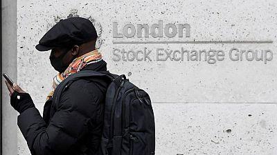 Energy, consumer staples stocks boost FTSE 100; Bloomsbury jumps