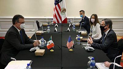 U.S., Mexico discuss migration, COVID-19 vaccine equality