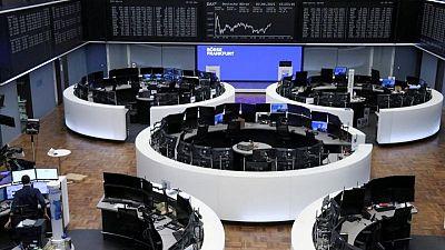 European stocks slip ahead of data deluge