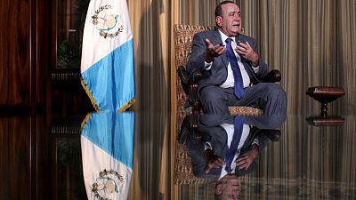 Exclusive-Guatemalan president says graft fighter biased, ahead of Harris visit