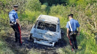 Nelle campagne di Gassino, indagano i carabinieri