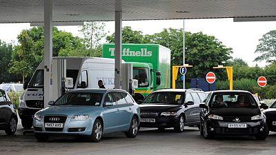 UK petrol sales hit pre-pandemic levels