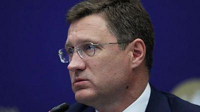 نوفاك يقول أسعار النفط الحالية جيدة بما يكفي بالنسبة لروسيا