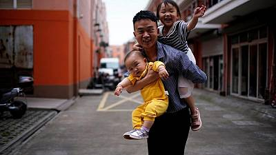 An hour from Shanghai, villagers only slightly more open to three-child policy