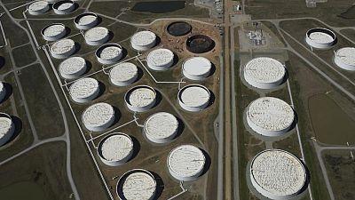 Oil prices slip as coronavirus gloom festers