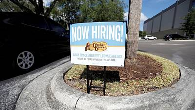 U.S. job growth likely picked up in May, worker shortages still a challenge