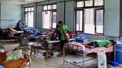 COVID-19 outbreak builds in Myanmar near Indian border