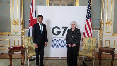 Los ministros de Economía del G7 se reúnen en Londres para negociar un acuerdo fiscal mundial