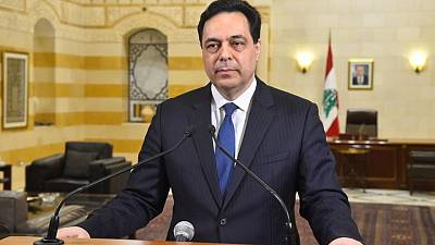 Lebanon is 'days away' from social explosion, PM Diab warns