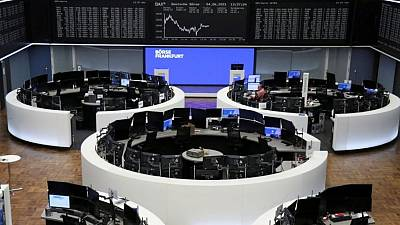 Commodity shares knock Europe off record highs