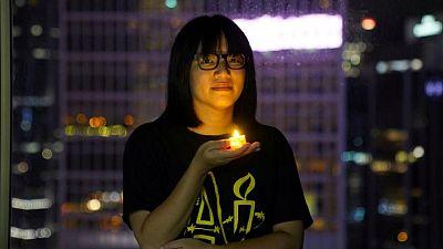 Hong Kong organiser of Tiananmen vigil released on bail
