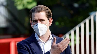 'Unimaginable' for Austria's Kurz to stay on if convicted, vice chancellor says