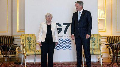 وزيرة الخزانة الأمريكية: على مجموعة السبع مواصلة الدعم المالي لاقتصاداتها