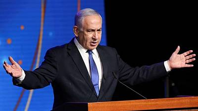 Israel's Netanyahu alleges election fraud, accuses rival of duplicity