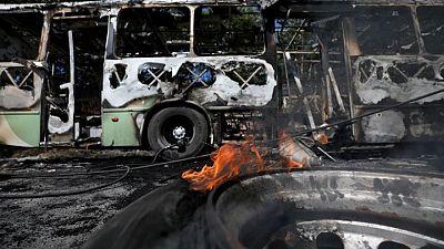Muerte de narcotraficante desata vandalismo en ciudad amazónica de Manaos