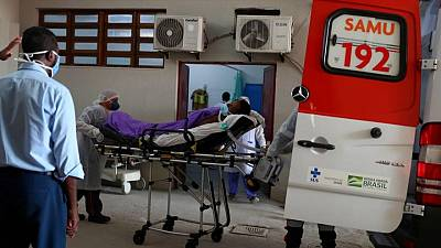 Brazil reports 39,637 coronavirus cases and 873 COVID deaths in 24 hours -ministry