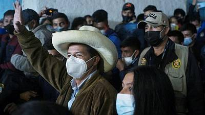 Castillo overtakes Fujimori in Peruvian presidential run-off fast count