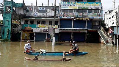 Heavy rain, floods kill at least 17 in Sri Lanka
