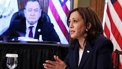 Harris to meet Guatemalan leader, steps to tackle human trafficking, graft expected