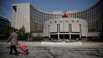 China's May new yuan loans seen falling as central bank scales back stimulus - Reuters poll
