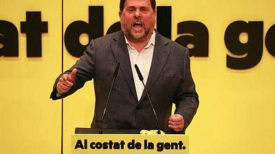 El dirigente separatista catalán encarcelado Junqueras admite errores y abre camino para aliviar tensiones
