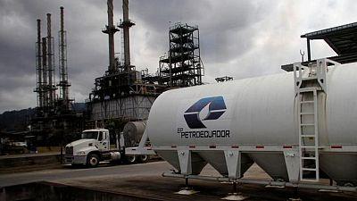 Petroecuador adjudica venta spot de 2,16 million barriles de crudo Oriente a estatal Petrochina