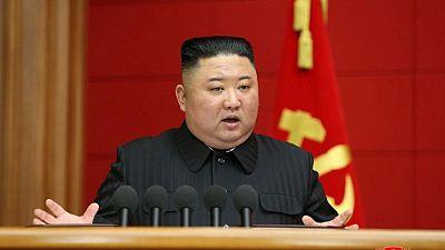 North Korea's Kim meets senior officials to address economy - KCNA