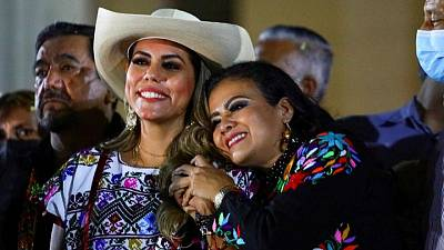 Women score historic wins in Mexico's mid-term elections