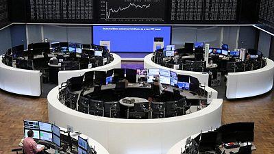 Utilities, telecoms support European stocks; autos slide