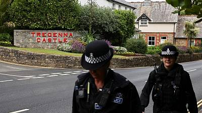 Miles de policías británicos se preparan para las protestas del G7