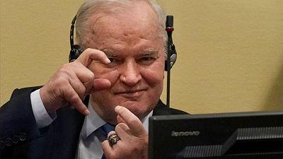 Genocide conviction upheld against former Bosnian Serb military commander Mladic