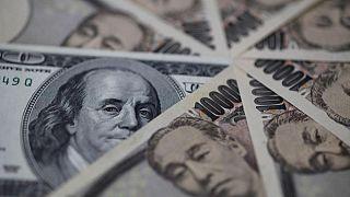 Yen sinks, Aussie climbs as Evergrande contagion fears recede