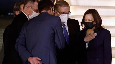 Harris meets Mexican President with goal of lowering migration from Central America