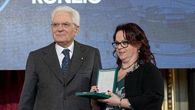 A Roma, vittima presidente associazione premiata da Mattarella