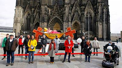 German Catholic abuse victims meet papal investigators