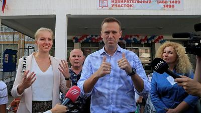 Navalny's daughter says Kremlin can't silence its critics