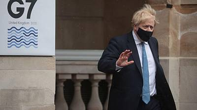 Days before G7, PM Johnson's lawmakers attack 'unBritish' aid cuts