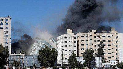 إسرائيل: البرج الذي ضم مكتب أسوشيتد برس كان مقر الحرب الإلكترونية لحماس