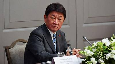 Japan minister says aims to raise security ties with Australia to new levels