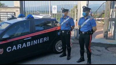 Carabinieri trovano bossolo, forse colpito da proiettile