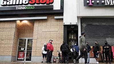 GameStop set to report results as shares reach for peak