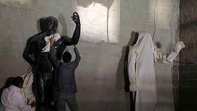 متاحف اليمن تكافح لحفظ ماضيه بينما تدمر الحرب حاضره