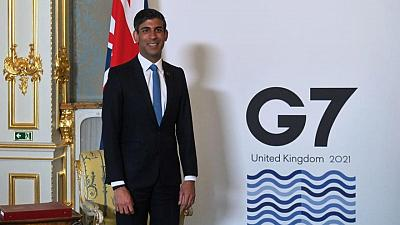 Londres presiona para que los servicios financieros queden fuera del plan fiscal del G7