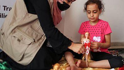 'She screams when someone comes near': Gaza children in trauma