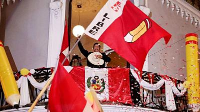 Peru leftist Castillo inches nearer win in sharply divided election