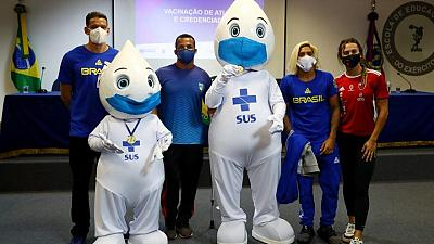 Olympics-IOC pushes for more vaccinations of Tokyo-bound athletes
