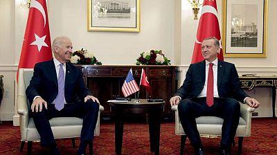 Turkey optimistic about Erdogan-Biden meeting at NATO summit -minister