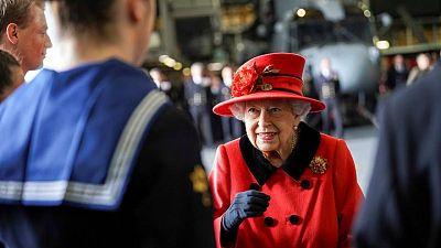 UK's Queen Elizabeth gifted rose named after late husband Philip