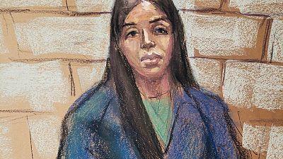 """La esposa de """"El Chapo"""" Guzmán se declarará culpable el jueves en EEUU"""