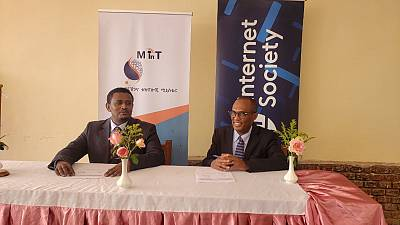 The Ministry of Innovation and Technology and the Internet Society sign new pact to advance digital economy in Ethiopia